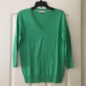 Banana Republic Green 3/4 Length Sweater